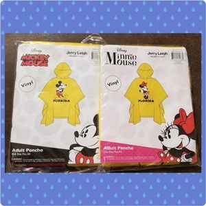 Disney Mickey & Minnie Mouse Florida Rain Ponchos